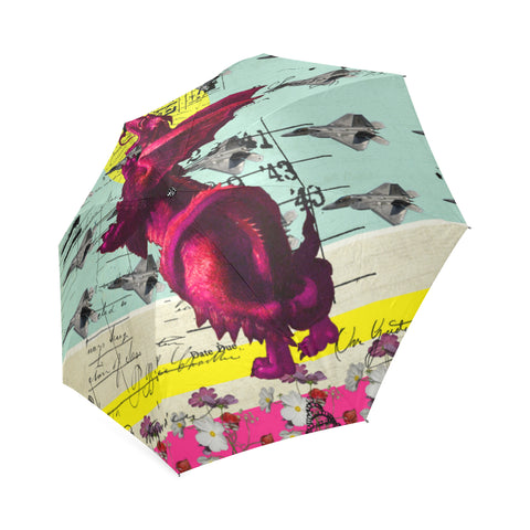 FLOWER POWER II Foldable Umbrella