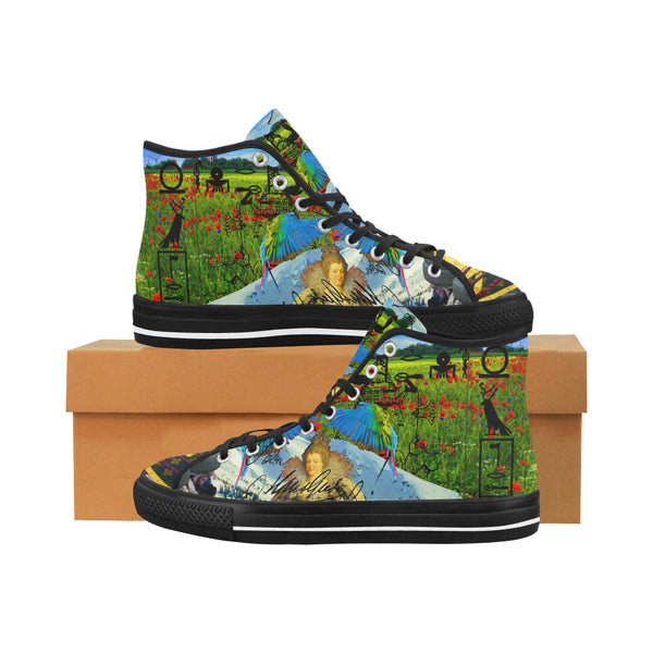 HEY! HERE ARE TWO MORE FOR YOU GUYS. Women's All Over Print Canvas Sneakers