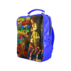 AND THIS, IS THE RAINBOW BRUSH CACTUS. II Square Backpack