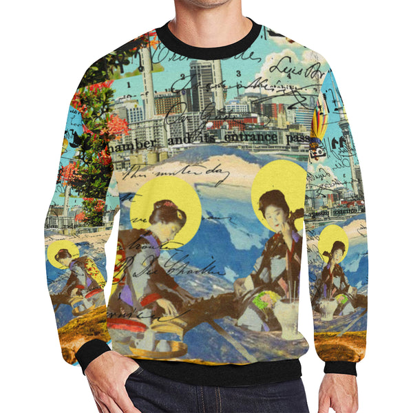 THE CONCERT II Men's Oversized Fleece Sweatshirt