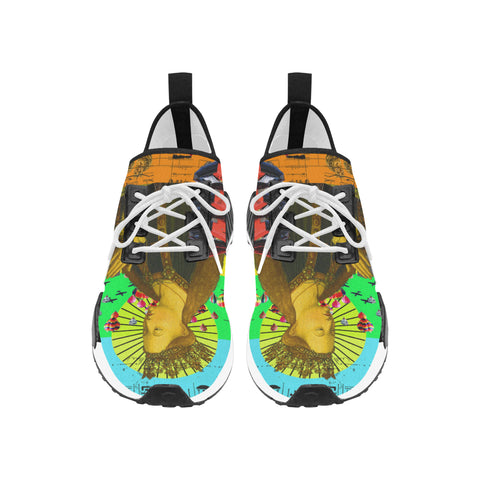 PRAYER Men's All Over Print Running Shoes