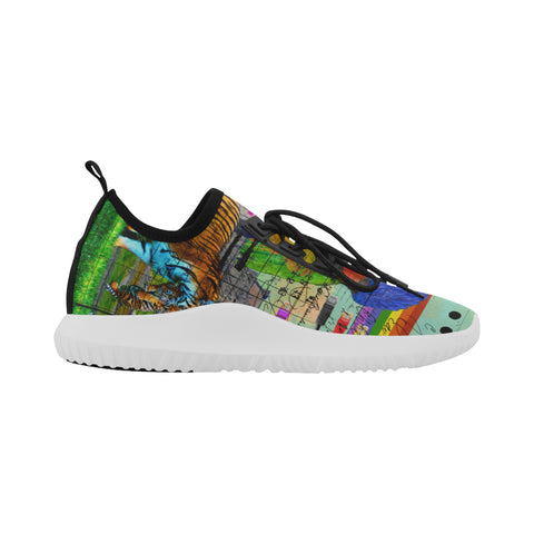 THE BIG PARROT  Ultra Light All Over Print Running Shoes for Women