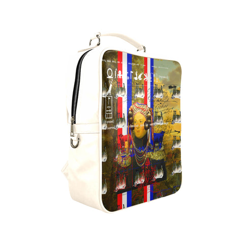 BLEU BLANC ROUGE Square Backpack