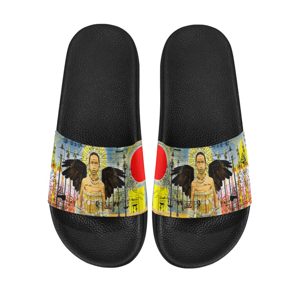 ROCKET GIRL II Women's Printed Slides