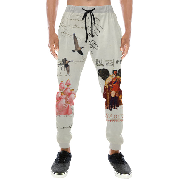THE KING OF THE FIELD III Men's All Over Print Sweatpants