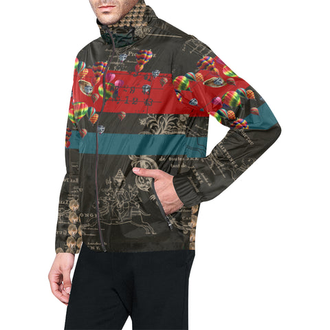 THE HEDGEHOG SOUP UPPER III IV All Over Print Windbreaker for Men
