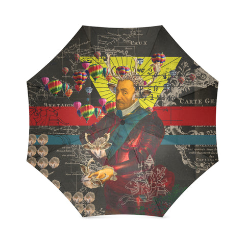 THE HEDGEHOG SOUP UPPER III IV Foldable Umbrella
