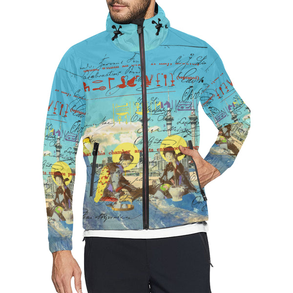 THE CONCERT II 2 All Over Print Windbreaker for Men