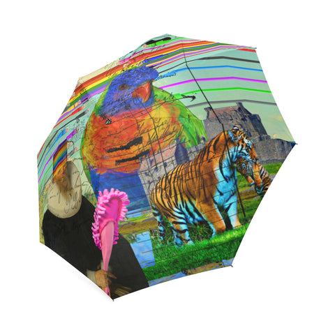 THE BIG PARROT Foldable Umbrella