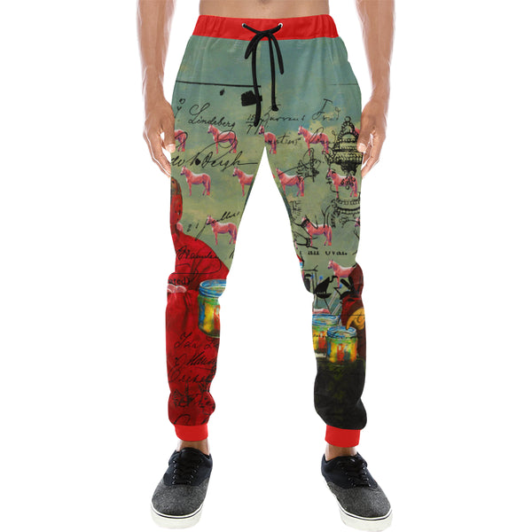I FOUND THEM IN THERE III Men's All Over Print Sweatpants