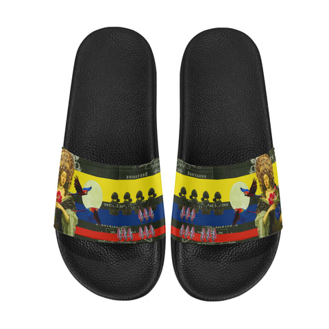 THE FLOWERS OF THE QUEEN Men's Printed Slides