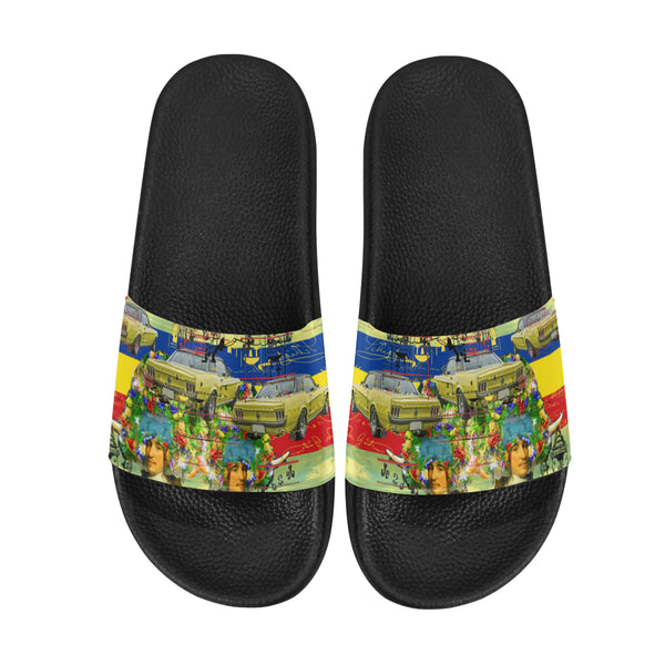 THE PARKING LOT Women's Printed Slides