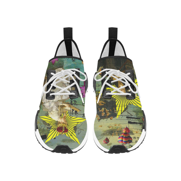 READING THE ANCIENT BOOK - DESIGN ACROSS BOTH SHOES Women's All Over Print Running Shoes