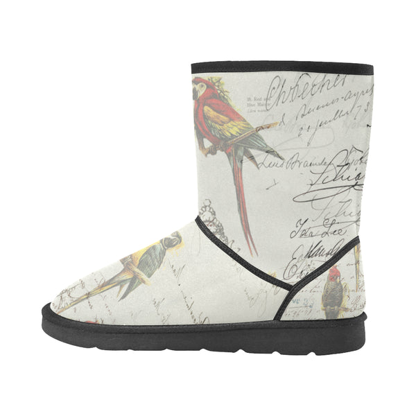 THE PARROT MAP II Unisex All Over Print Snow Boots