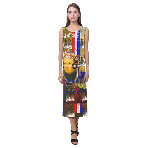 BLEU BLANC ROUGE Sleeveless Dress