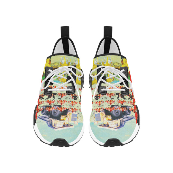 ACCORDING TO PLAN. Men's All Over Print Running Shoes