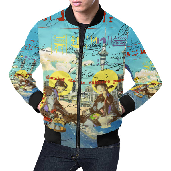 THE CONCERT II All Over Print Bomber Jacket for Men