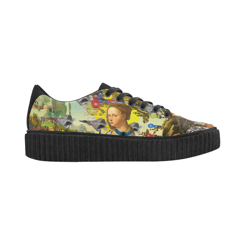 THE PLANE TECHNICIAN / UNPAINTER Fabric Creeper Women's Shoes