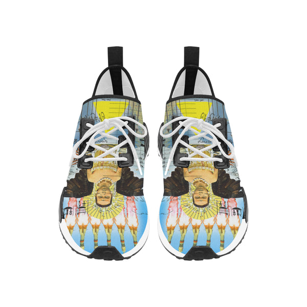 ANIMAL MIX : ROCKET GIRL II Women's All Over Print Running Shoes