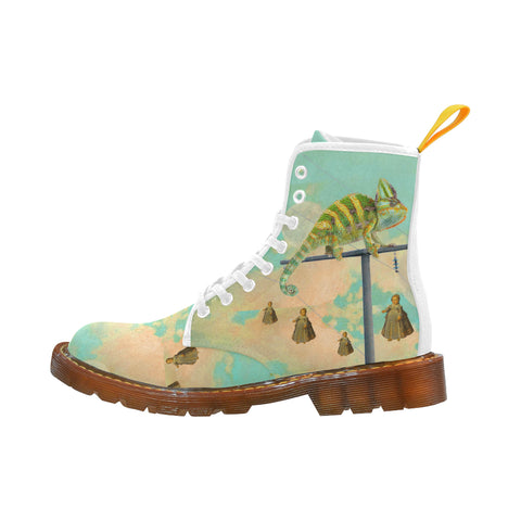DANDELIONS 2 Women's All Over Print Fabric High Boots