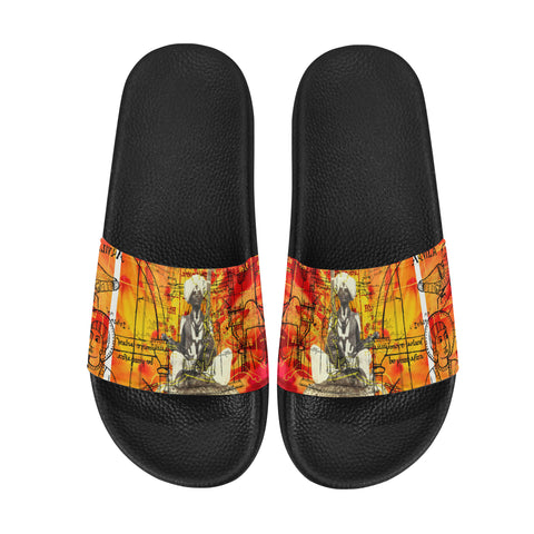 THE SITAR PLAYER Women's Printed Slides