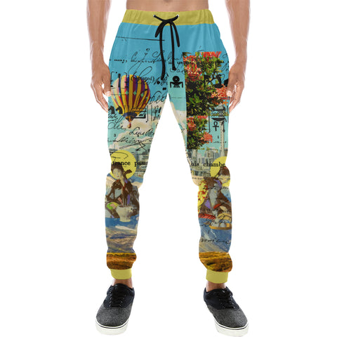 THE CONCERT II Men's All Over Print Sweatpants