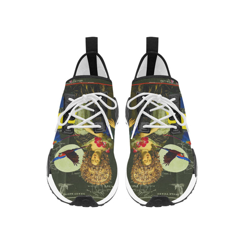 THE FLOWERS OF THE QUEEN Women's All Over Print Running Shoes