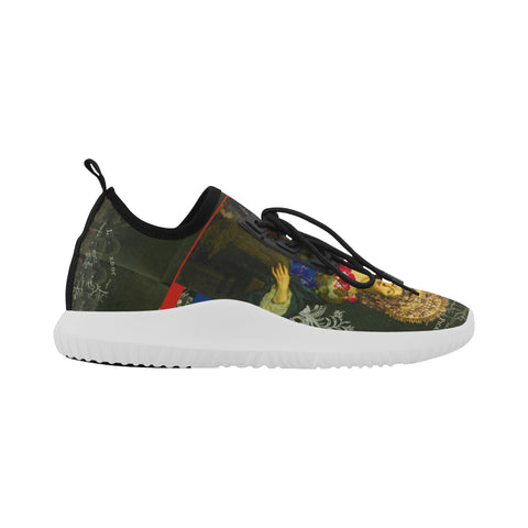 THE FLOWERS OF THE QUEEN  Ultra Light All Over Print Running Shoes for Women