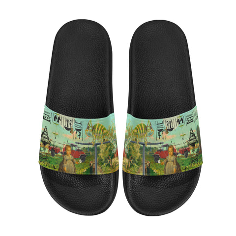 DANDELIONS Men's Printed Slides