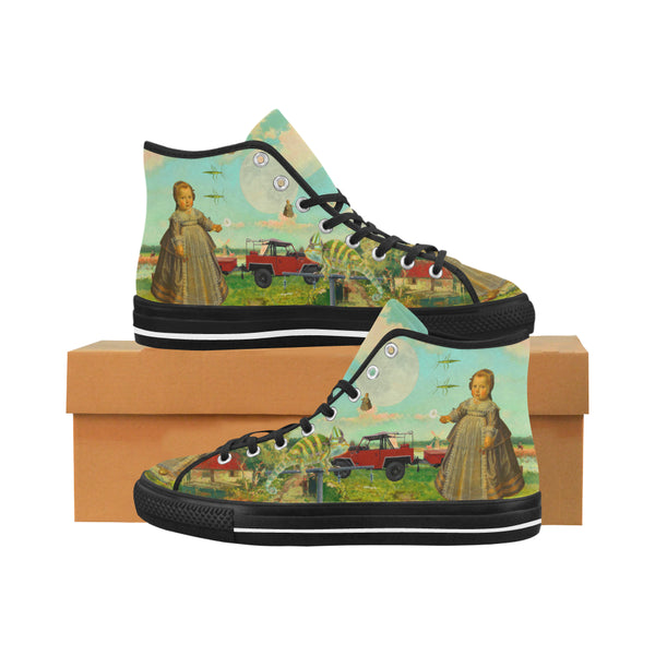 DANDELIONS Women's All Over Print Canvas Sneakers