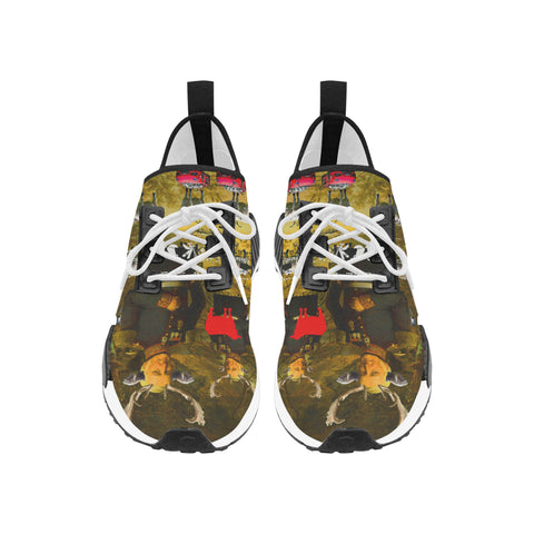 BOVINE Men's All Over Print Running Shoes