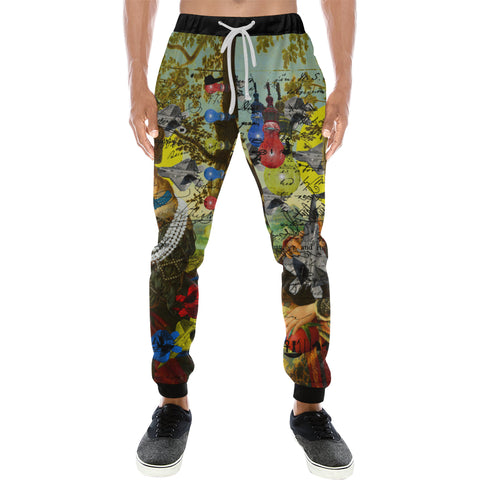 THE PLANE TECHNICIAN / UNPAINTER Men's All Over Print Sweatpants