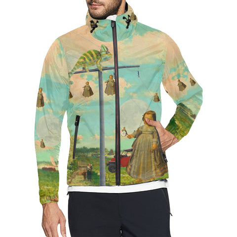 DANDELIONS All Over Print Windbreaker for Men