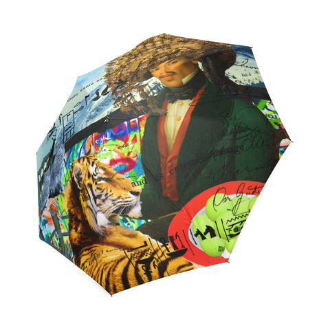THE EMPEROR OF SNOWY MOUNTAIN Foldable Umbrella