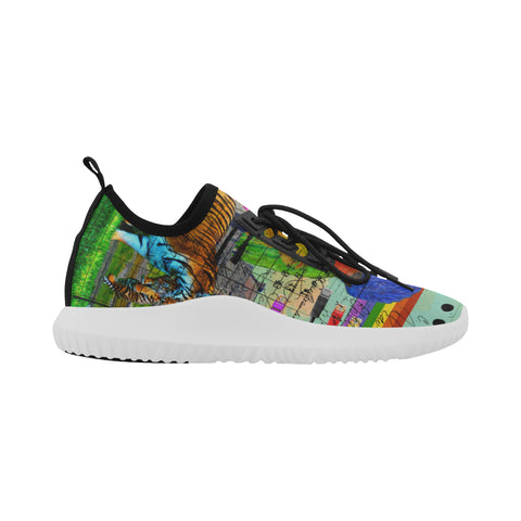 THE BIG PARROT Ultra Light All Over Print Running Shoes for Men