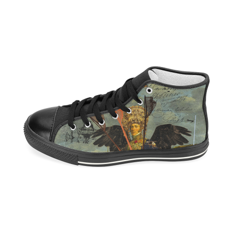 THE YOUNG KING ALT. 2 II Women's Classic High Top Canvas Shoes