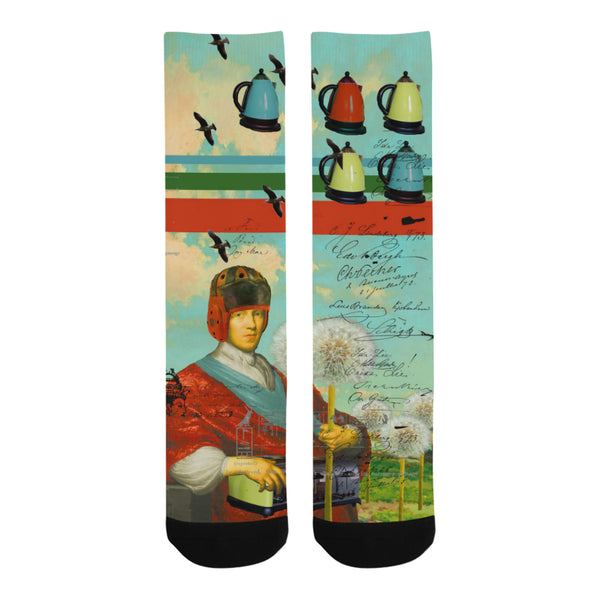 KITCHENWARES AND DANDELIONS Socks