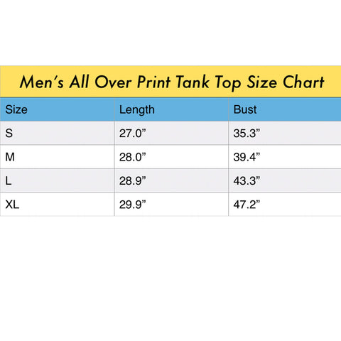 ANIMAL MIX - THE KING Men's All Over Print Tank Top