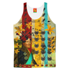 A HAT OF JEEPS Women's All Over Print Tank Top
