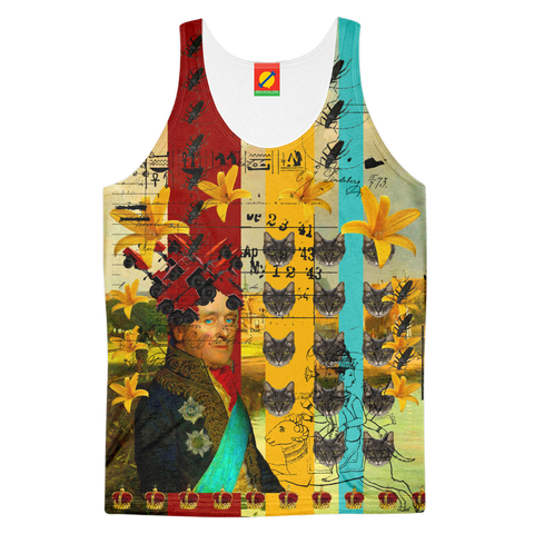 A HAT OF JEEPS Men's All Over Print Tank Top
