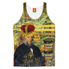 THE FOUR CROWNS Men's All Over Print Tank Top