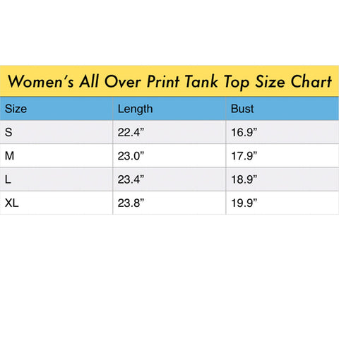 ANIMAL MIX - THE KING Women's All Over Print Tank Top