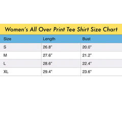 ANIMAL MIX - THE KING Women's All Over Print Tee