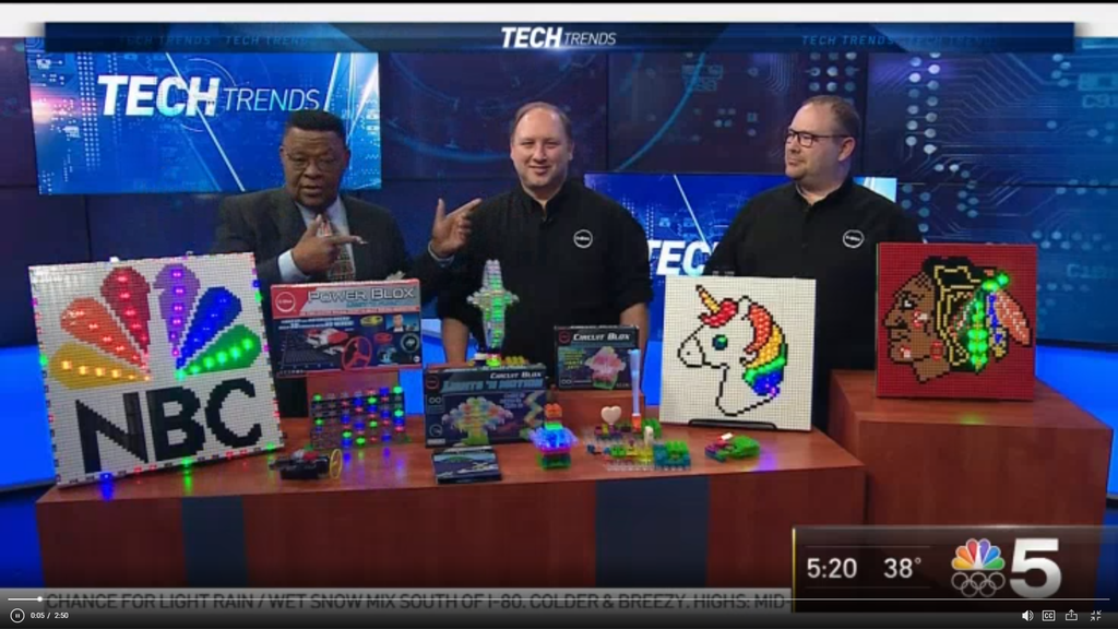 NBC 5 Tech Trends with Art Norman and the E-Blox Brothers