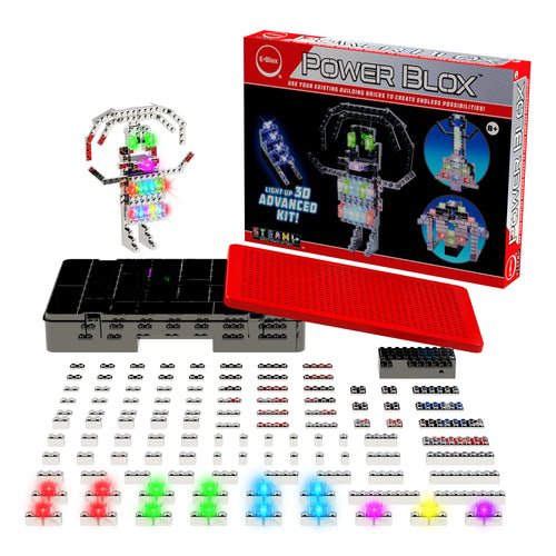 Power Blox™ Advanced Set - E-Blox® - LED Light-Up Building Blocks