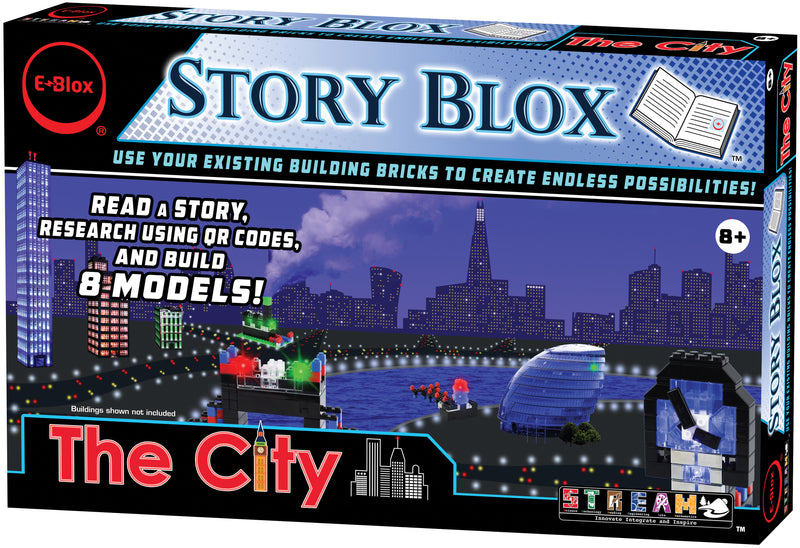 The City - E-Blox® LED Building Blocks Stories