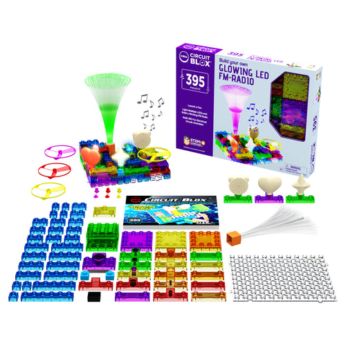 Circuit Blox™ 395 - E-Blox® Circuit Board Building Blocks Toys for Kids