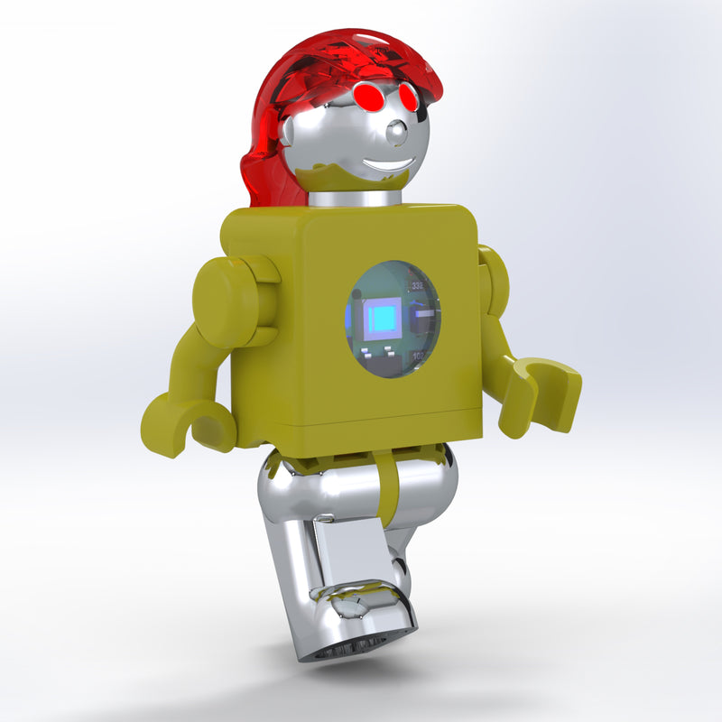 LUMEN®- Ruby- Illuminated Mini Figure