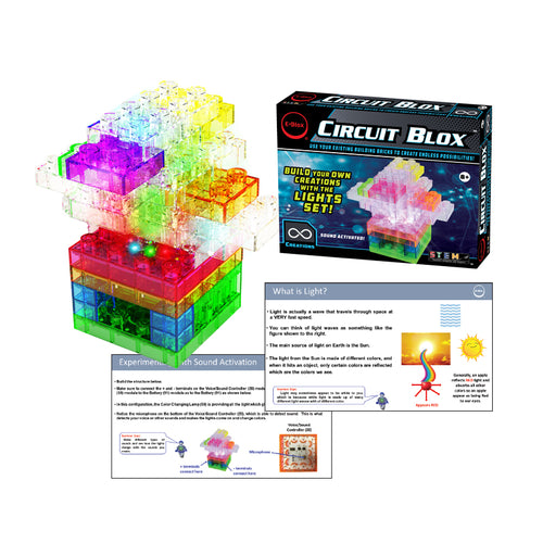 Circuit Blox™ Lights Student Set - E-Blox®