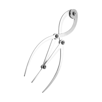 Stainless Steel Eyebrow Calliper